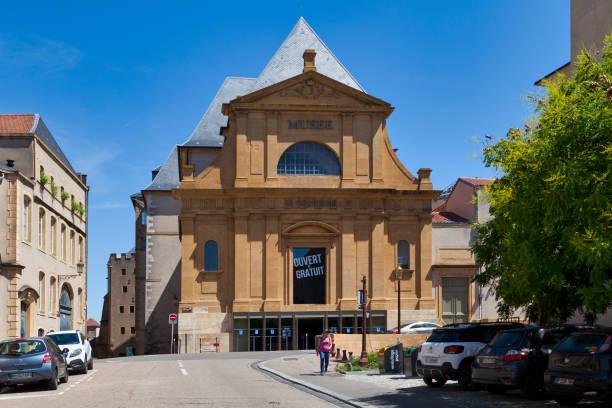 Museum of La Cour d'Or in Metz stock photo
