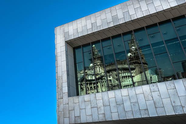 Museum Of Liverpool stock photo