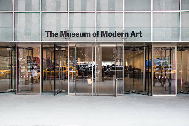 Museum of Modern Art stock photo