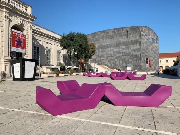 Museum of Modern Art Vienna stock photo