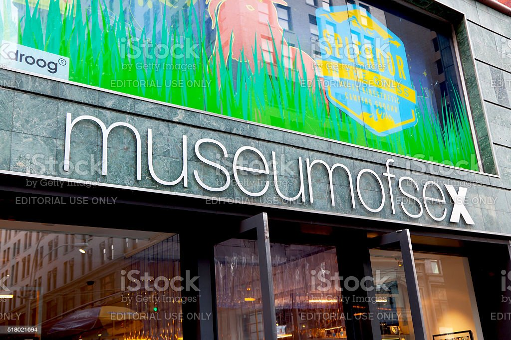Museum of Sex stock photo