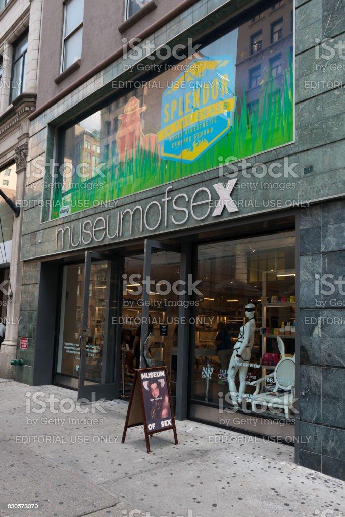 City Street, Museum of Sex, New York City, New York State, Street