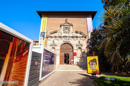 TOULOUSE, FRANCE - SEPTEMBER 20, 2018: Musee des Augustins de Toulouse or Musee des Beaux-Arts is a fine arts museum in Toulouse city, France