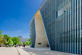 Museum of the History of Polish Jews 'Polin'. Designed by Rainer Mahlamäki. Warsaw, masovian province, Poland.