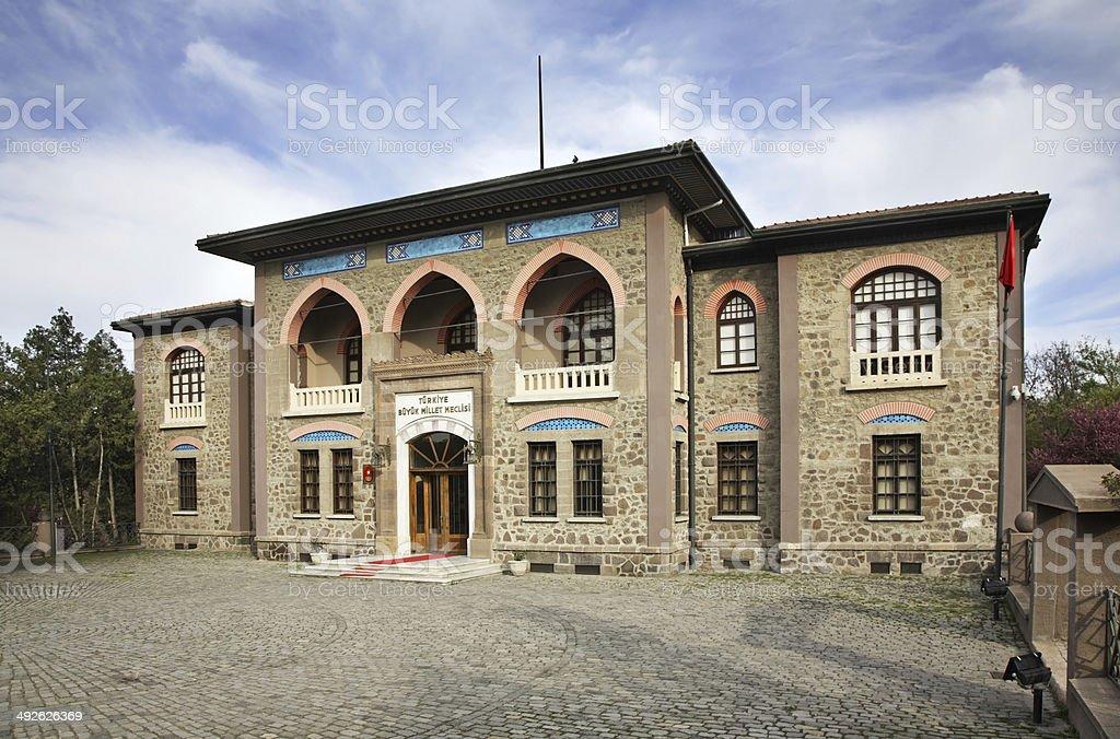 Museum der Republik in Ankara.  Der Türkei – Foto