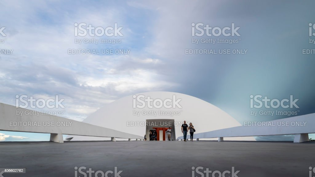 Museum of the Republic, in Brasilia, Brazil stock photo