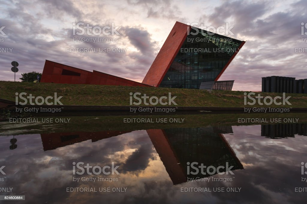 Museum of the Second World War in Gdansk stock photo