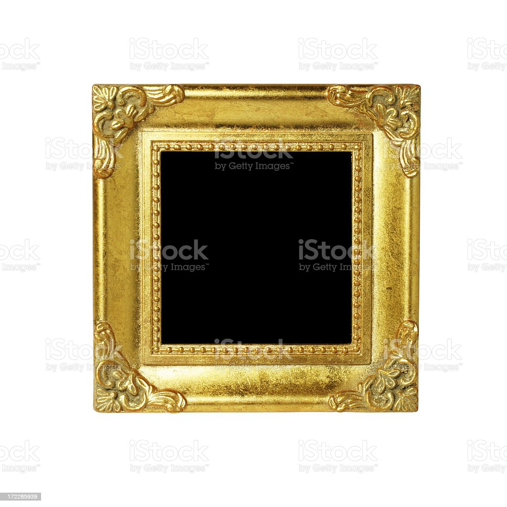 Museum Picture Frame royalty-free stock photo