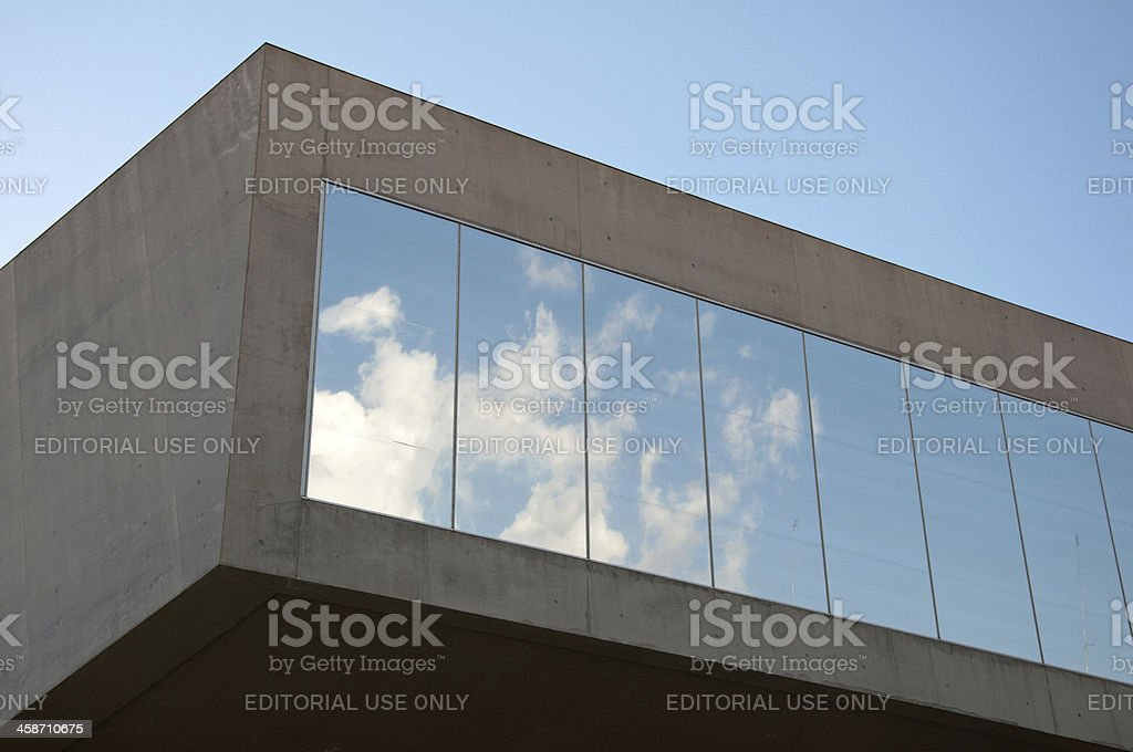 MAXXI Museum royalty-free stock photo