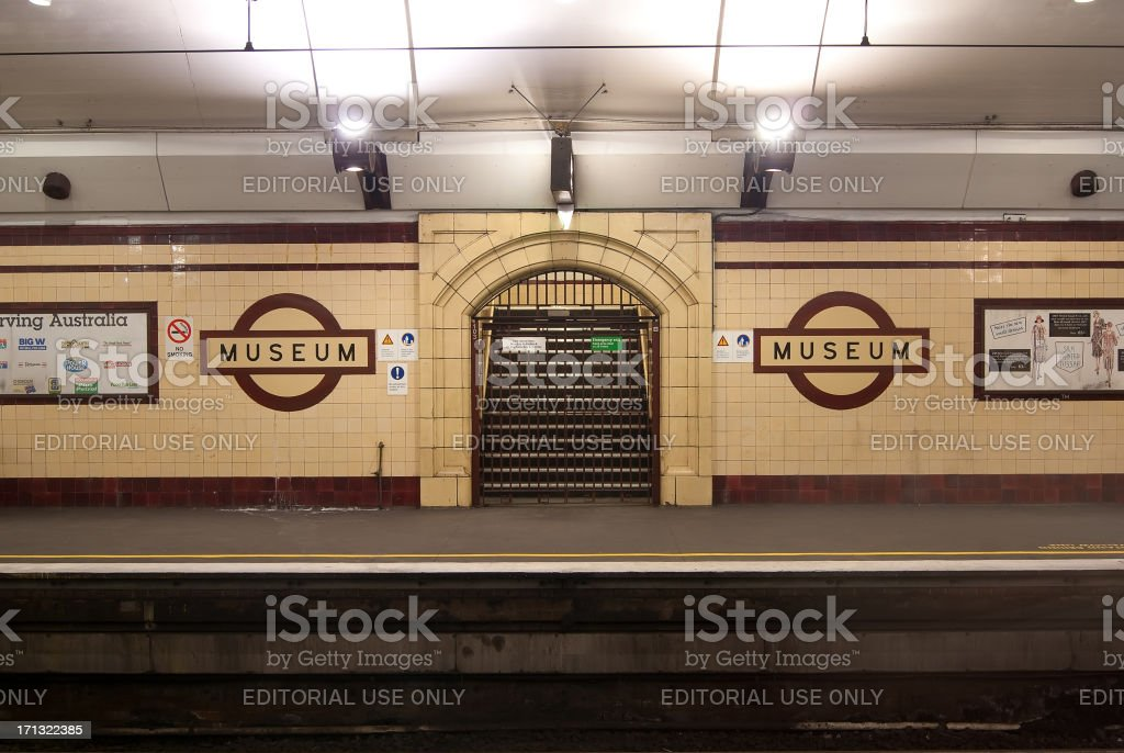 Museum Railway Station royalty-free stock photo