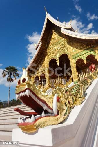 Entrance To The Museum Temple From Luang Prabang Laos