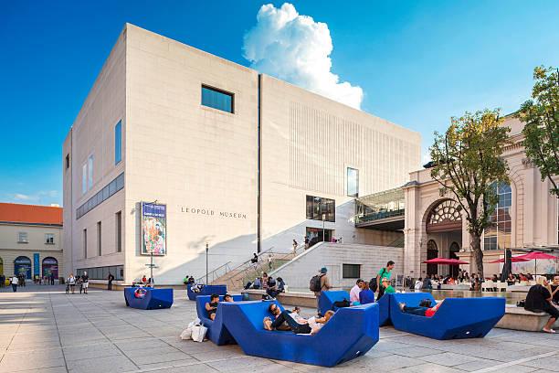 Museum der Museumquartier in Wien, Österreich. – Foto