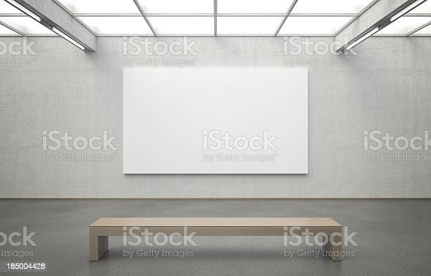 Museum With Image Stock Photo - Download Image Now