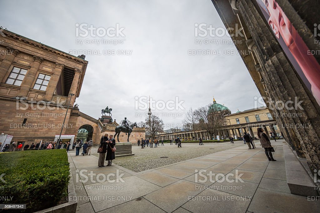 Museuminsel - Museum Island - Berlin, Germany stock photo