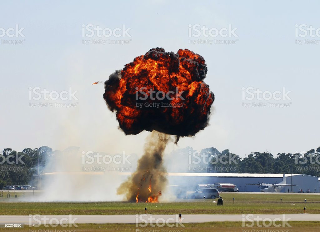 Mushroom explosion royalty-free stock photo