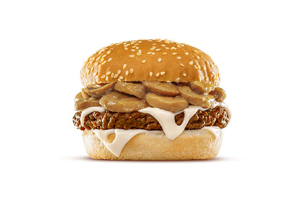 Pilz Schweizer Cheeseburger – Foto