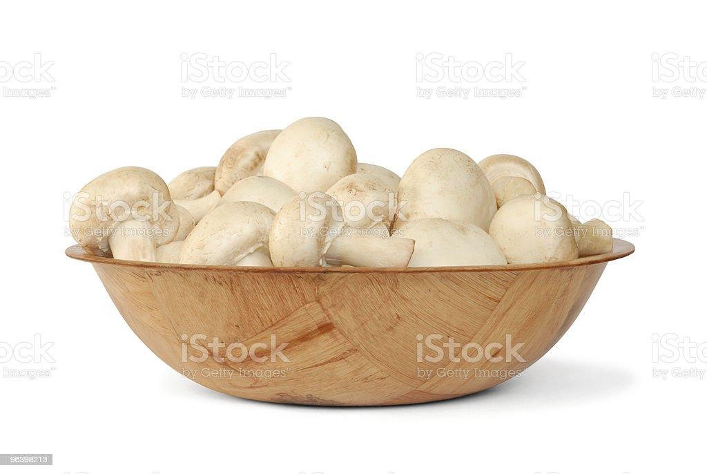 Mushrooms - Royalty-free Bowl Stock Photo