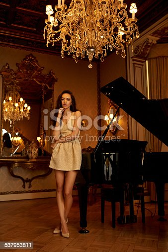 istock Music and chandeliers 537953811