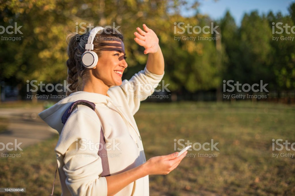 Music And Training In Park Stock Photo - Download Image Now - iStock