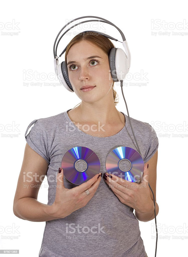 Music angel royalty-free stock photo