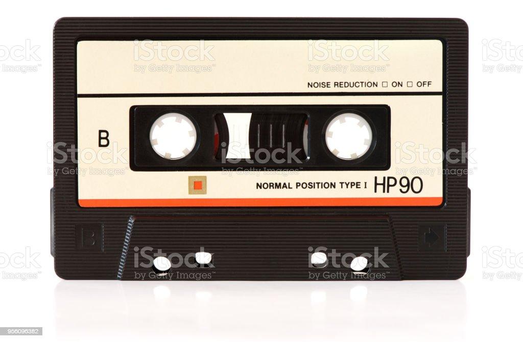 music audio tape stock photo