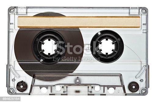 istock music audio tape vintage 694625154