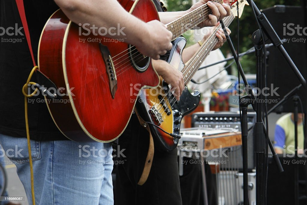 Music Band stock photo