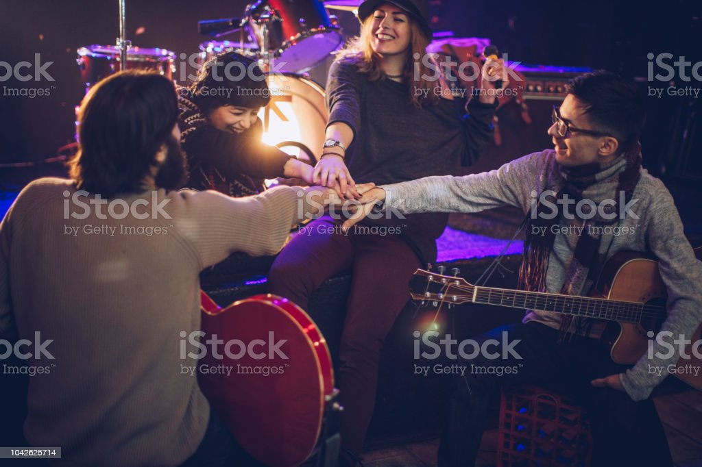 Music Band Unity Stock Photo - Download Image Now - iStock