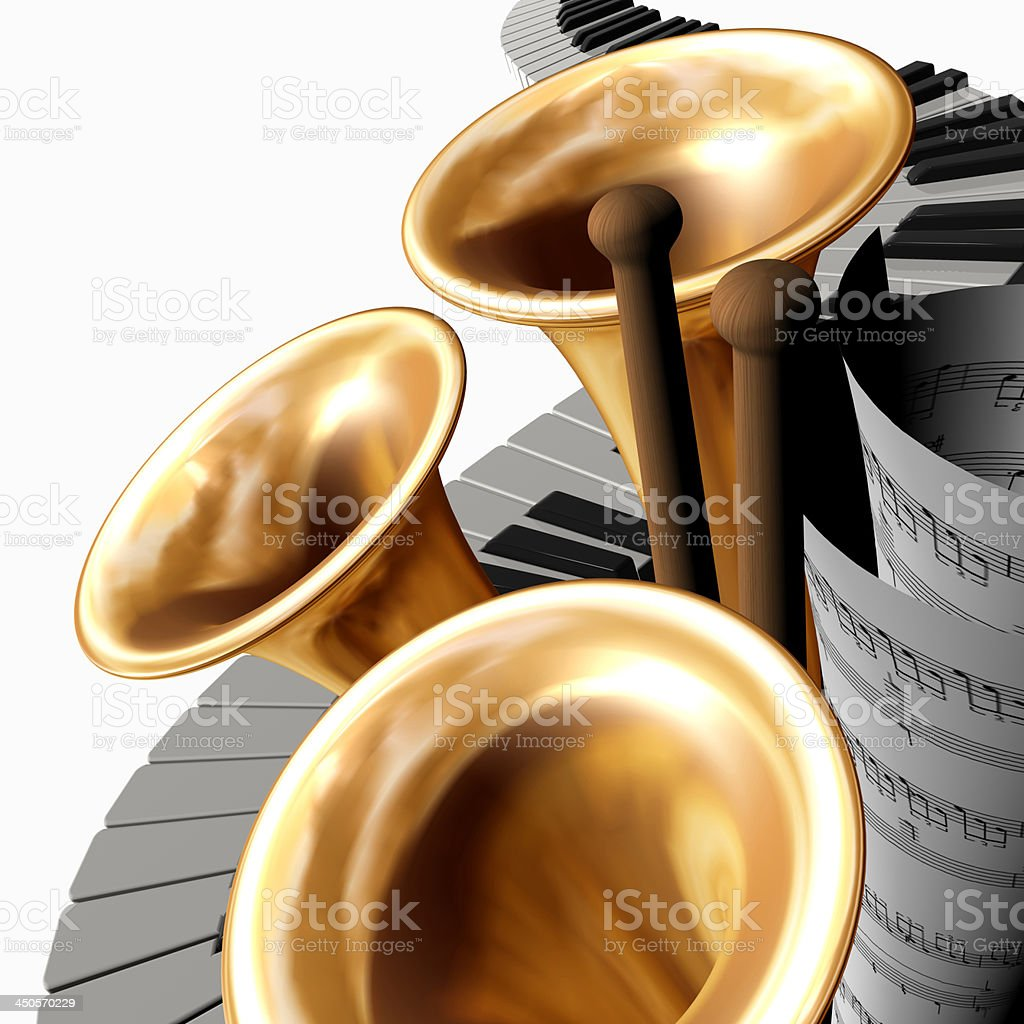 music big royalty-free stock photo
