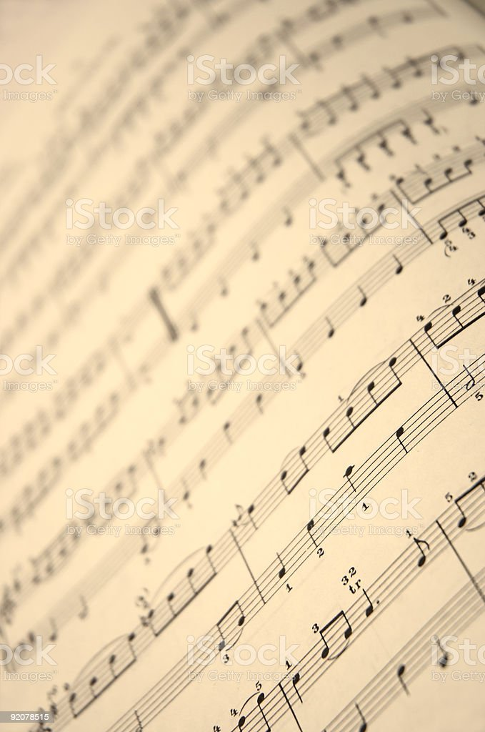 music book in close up royalty-free stock photo