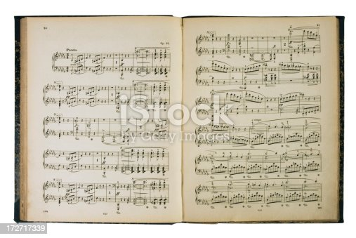 Music Book Isolated