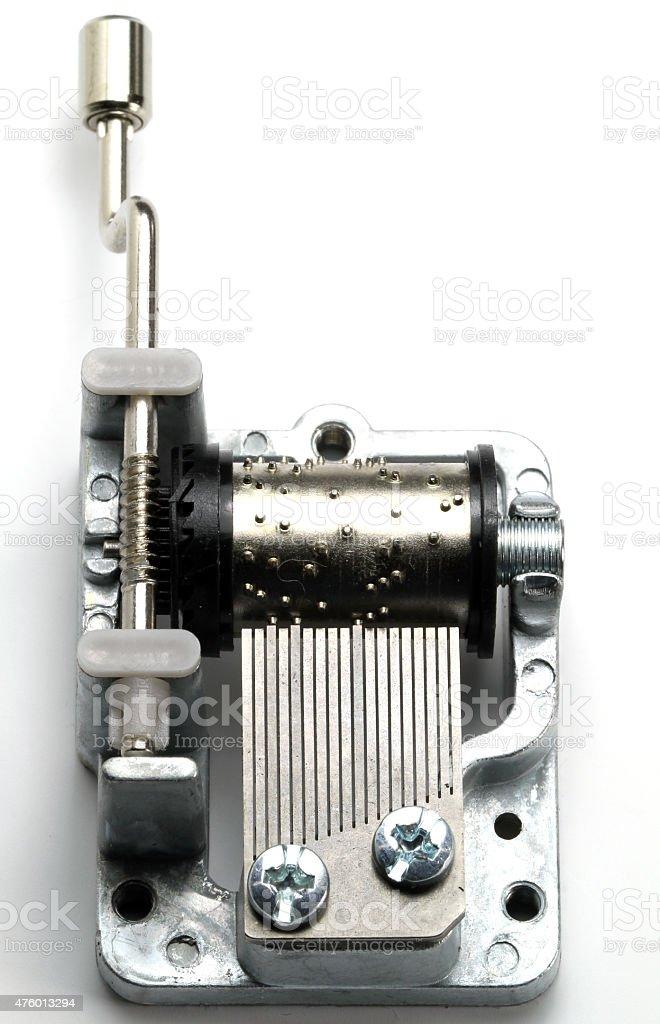 Music Box Mechanism stock photo