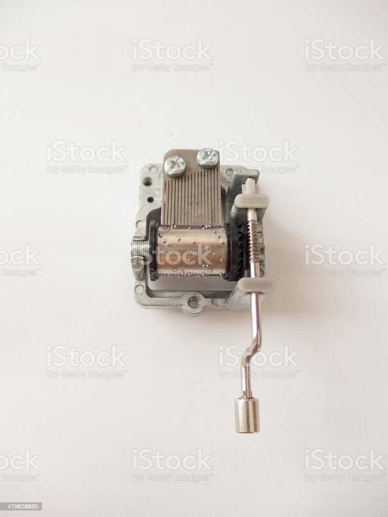 Music box stock photo