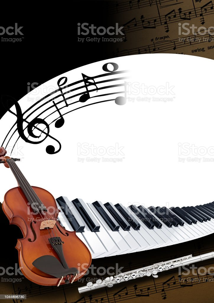 Music Brochure Template Stock Photo More Pictures Of Art Istock