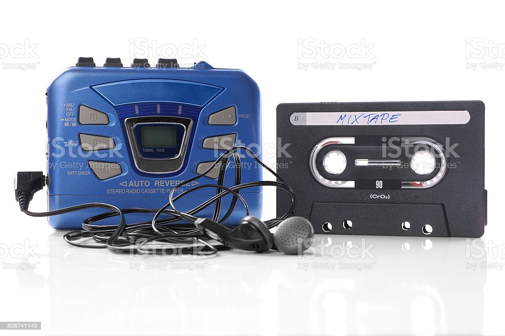 Musik Kassette und walkman – Foto