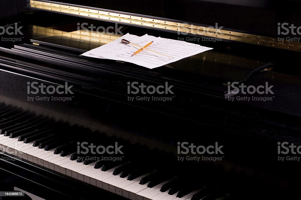 Music Composition royalty-free stock photo