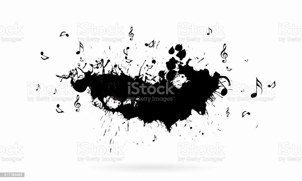 Music concept stock photo