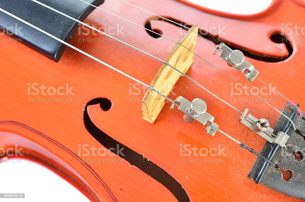 Conceito de música com Violino foto de stock royalty-free