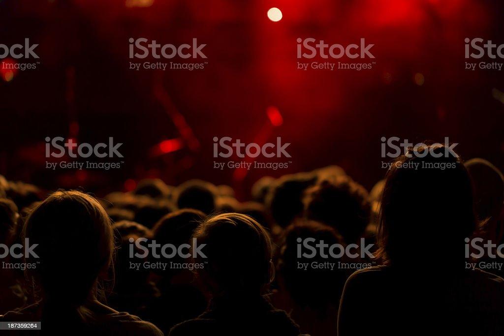 Koncert muzyki zbiór zdjęć royalty-free