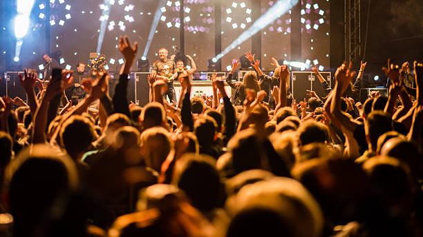 musik-konzert  - boxen live stock-fotos und bilder