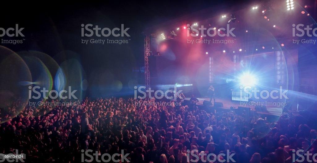 Concierto de música  - foto de stock