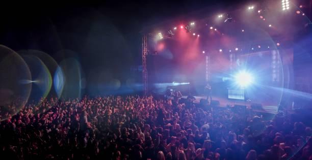 music concert - altoparlante hardware audio foto e immagini stock