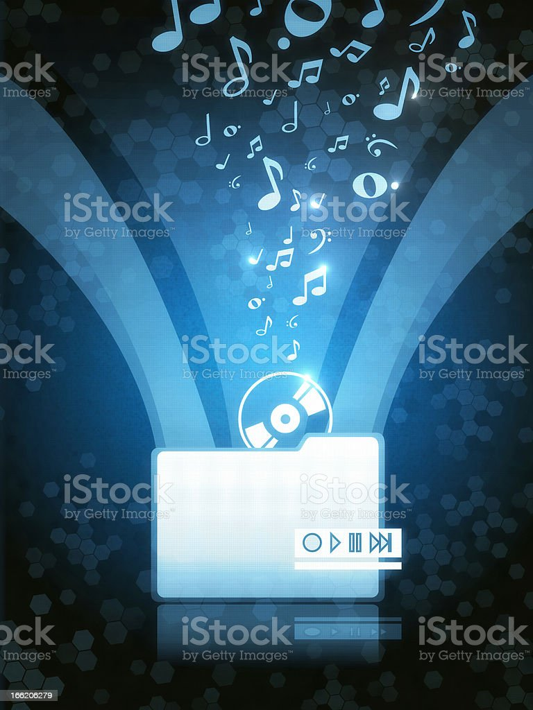 Music Download stock photo