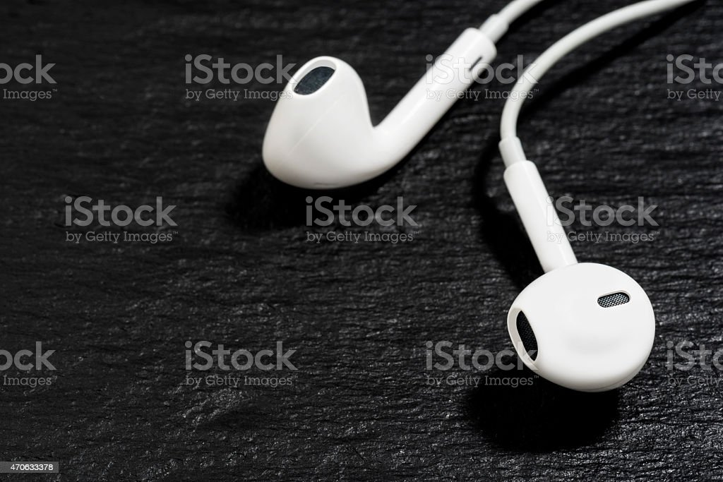 Music Downloads And Audio Podcasting stock photo