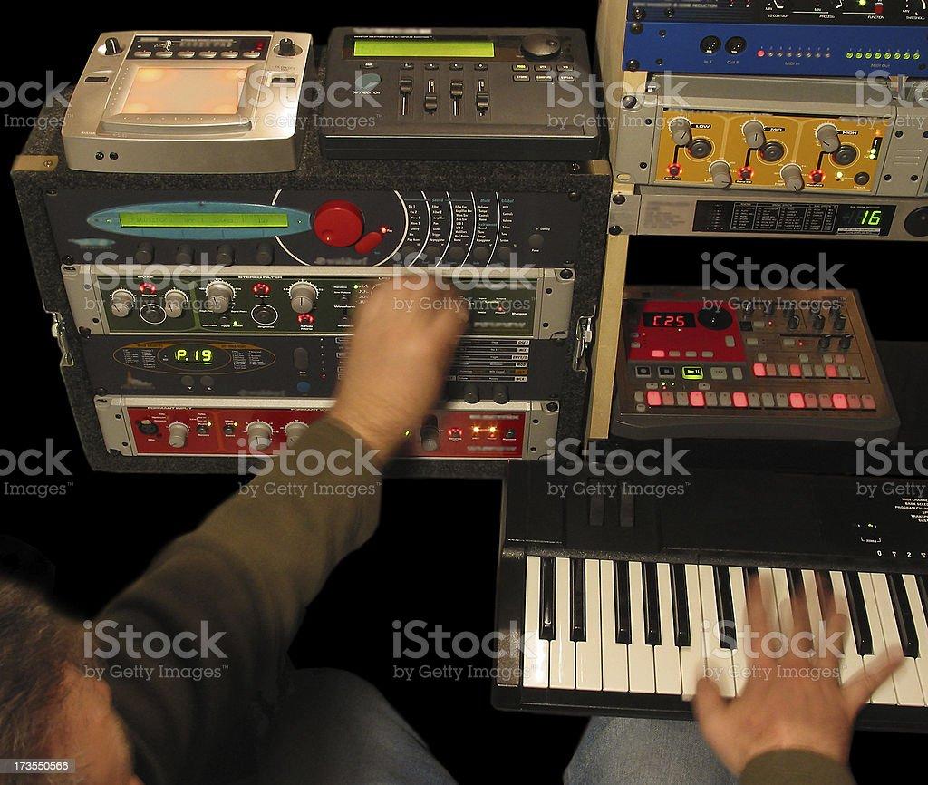 Music Electronics stock photo