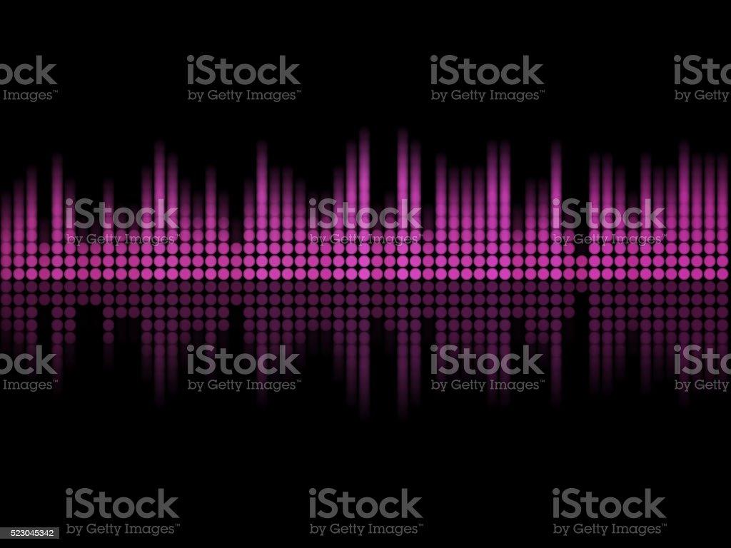Music equalizer stock photo