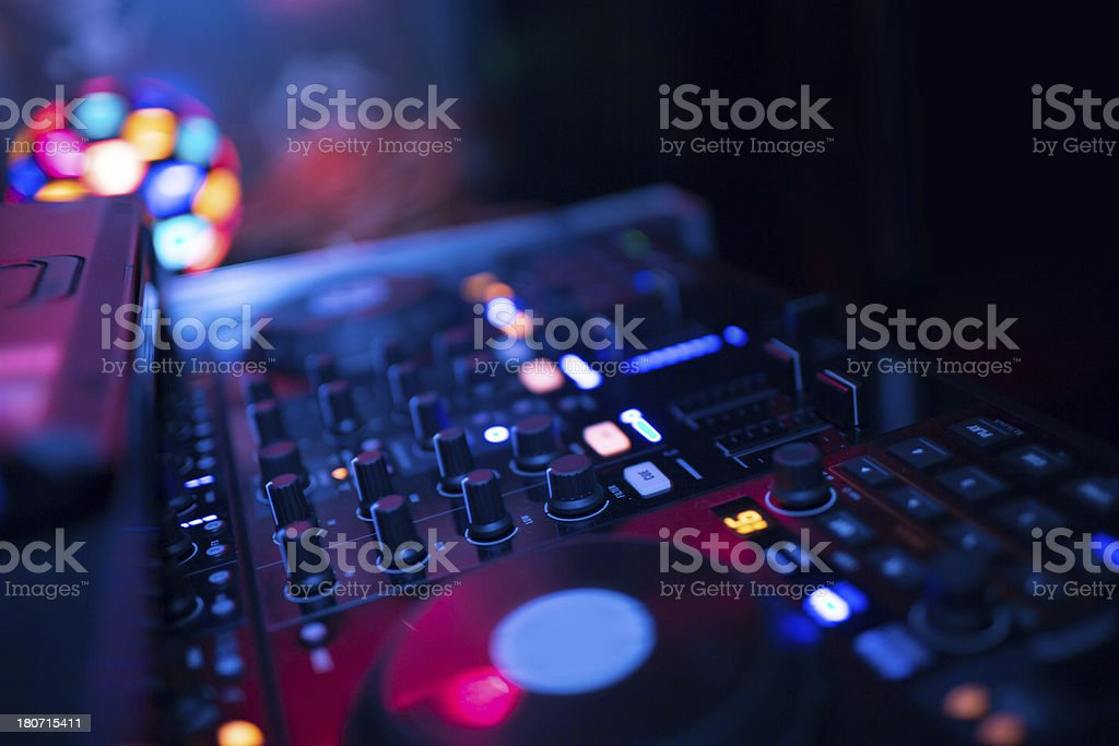 Music equipment royalty-free stock photo