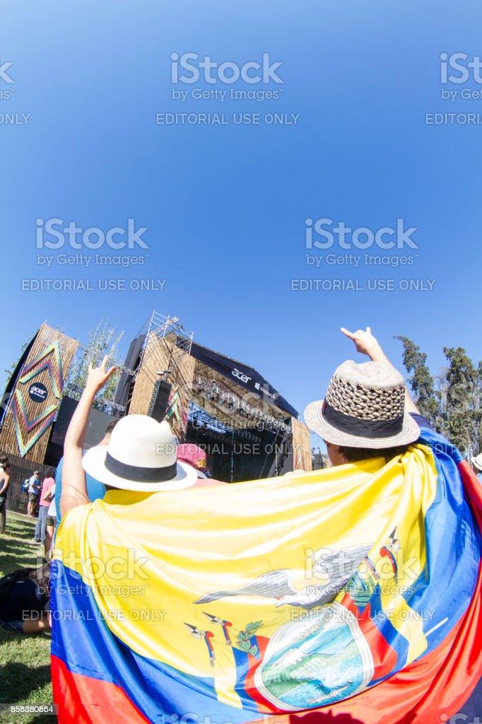Festival de música - foto de stock