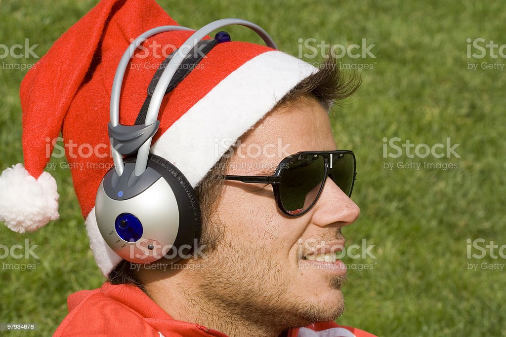 music for christmas royalty-free stock photo