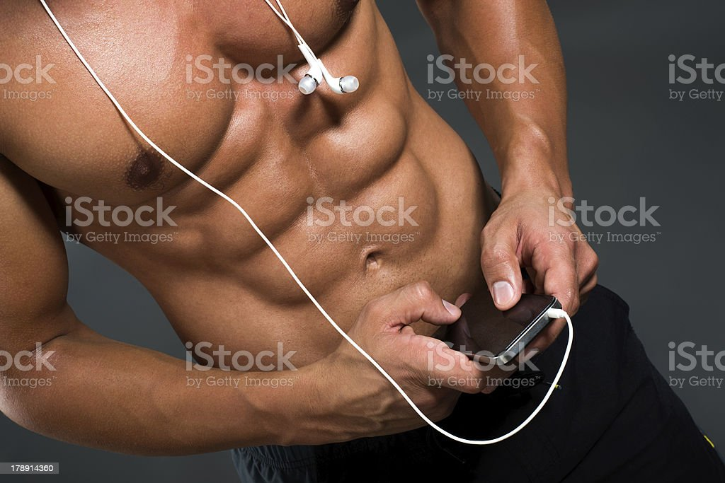 Music for men royalty-free stock photo